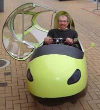 le plus petit des véhicules hybride Fitness-car--